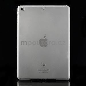 Gélový ochranný obal na iPad Air - transparentný - 1