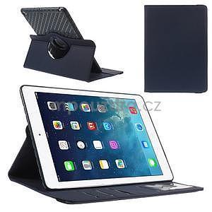 Circ otočné puzdro na Apple iPad Air - tmavomodré - 1