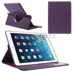Circ otočné puzdro na Apple iPad Air - fialové - 1