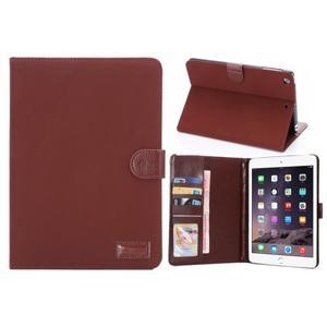 Cloth luxusné puzdro na Ipad Mini 3, Ipad Mini 2 a Ipad Mini - červené - 1