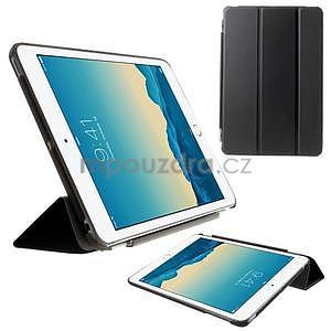 Classic tří polohové puzdro na iPad Mini 3, ipad Mini 2 a na iPad Mini -  čierne - 1