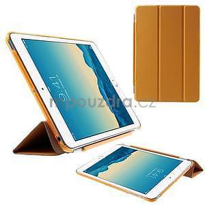 Classic troj polohové puzdro pre iPad Mini 3, ipad Mini 2 a na iPad Mini -  oranžová - 1