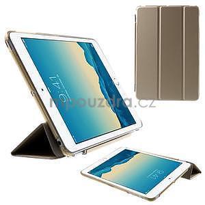 Classic tří polohové puzdro na iPad Mini 3, ipad Mini 2 a na iPad Mini -  champagne - 1