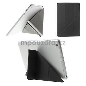 Origami ochranné puzdro iPad Mini 3, iPad Mini 2, iPad mini - čierne - 1