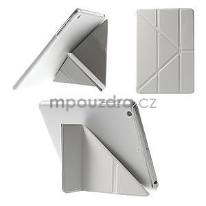 Origami ochranné puzdro iPad Mini 3, iPad Mini 2, iPad mini - biele - 1
