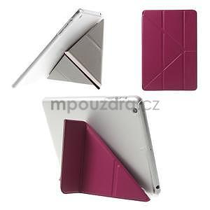 Origami ochranné puzdro iPad Mini 3, iPad Mini 2, iPad mini - rose - 1