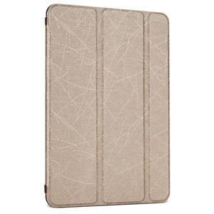 Lines polohovateľné puzdro pre iPad Mini 3 / iPad Mini 2 / iPad mini - zlaté - 1