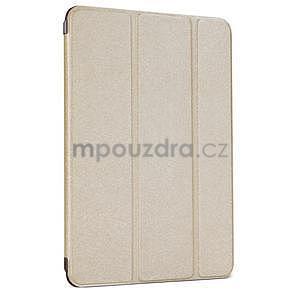 Lines polohovateľné puzdro pre iPad Mini 3 / iPad Mini 2 / iPad mini - champagne - 1