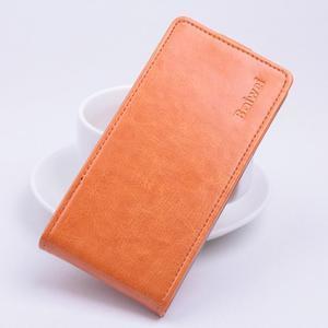 Flipové puzdro pre mobil Lenovo A2010 - oranžové - 1