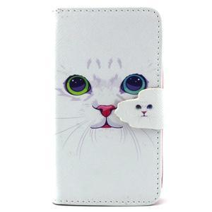 Fun peněženko puzdro na Samsung Galaxy S3 mini - kočička - 1