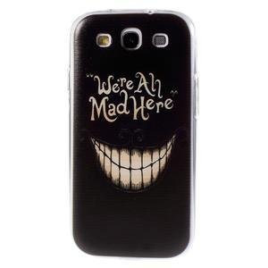 Ultratenký gélový obal na Samsung Galaxy S3 - smile - 1
