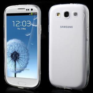 Ultratenký slim 0.6 mm obal na Samsung Galaxy S III / S3 - transparentný - 1