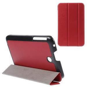 Supreme polohovateľné puzdro na tablet Asus Memo Pad 7 ME176C - červené - 1