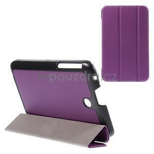Supreme polohovateľné puzdro na tablet Asus Memo Pad 7 ME176C - fialové - 1