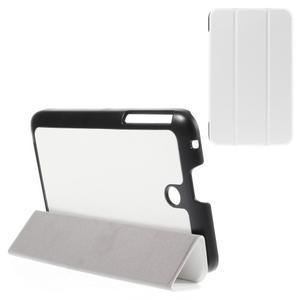 Supreme polohovateľné puzdro na tablet Asus Memo Pad 7 ME176C - biele - 1