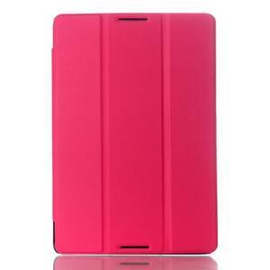 Troj-polohové puzdro na tablet Lenovo IdeaTab A10-70 - rose - 1
