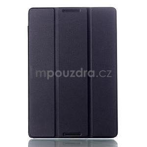 Troj-polohové puzdro na tablet Lenovo IdeaTab A10-70 - čierne - 1