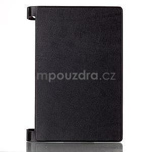 Koženkové puzdro pre Lenovo Yoga Tablet 2 8.0 - čierne - 1