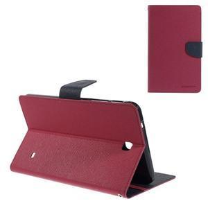 Rose peňaženkové puzdro Goospery na tablet Samsung Galaxy Tab 8.0 4 - 1
