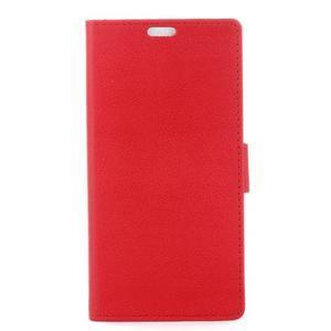 Gregory peňaženkové puzdro pre Acer Liquid Z520 - červené - 1