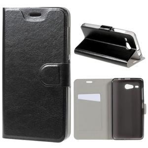 Horse peněženkové pouzdro na Acer Liquid Z520 - černé - 1