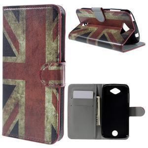 Valet peňaženkové puzdro pre Acer Liquid Z530 - UK vlajka - 1