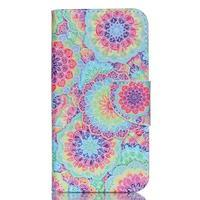Luxy peněženkové pouzdro na Acer Liquid Z530 - barevné květy - 1/6