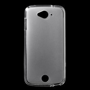 Matný gélový obal pre Acer Liquid Z530 - biely - 1