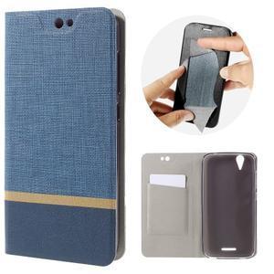 Klopové puzdro pre mobil Acer Liquid Z630 - modré - 1