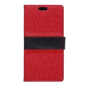 Lines pouzdro na mobil Acer Liquid Z630 - červené - 1
