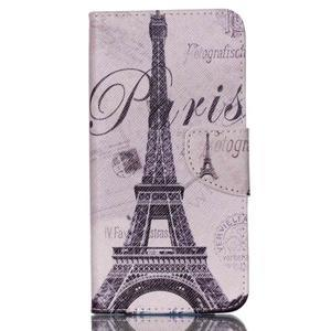 Peněženkové pouzdro na mobil Acer Liquid Z630 - Eiffelova věž - 1