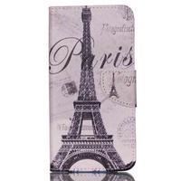 Peňaženkové puzdro pre mobil Acer Liquid Z630 - Eiffelova veža - 1/6