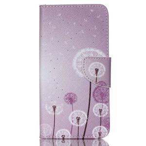 Peňaženkové puzdro pre mobil Acer Liquid Z630 - púpavy - 1