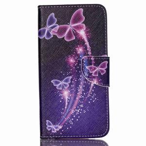 Peněženkové pouzdro na mobil Acer Liquid Z630 - kouzelní motýlci - 1