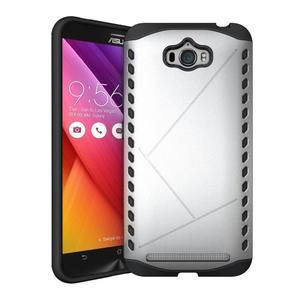 Odolný kryt na mobil Asus Zenfone Max - stříbrný - 1