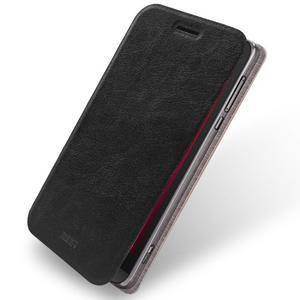Moof klopové puzdro pre mobil Asus Zenfone Zoom - čierné - 1