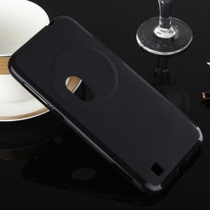 Gelový matný obal na mobil Asus Zenfone Zoom - černý