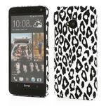 Plastový kryt na HTC One M7 - leopard - 1/5