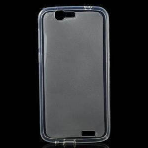 Gélový obal s matným chrbtom Huawei Ascend G7 - 1
