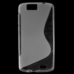 Gélový kryt S-line Huawei Ascend G7 - transparentný - 1