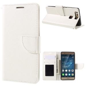 Crossy peněženkové pouzdro na Huawei P9 - bílé - 1