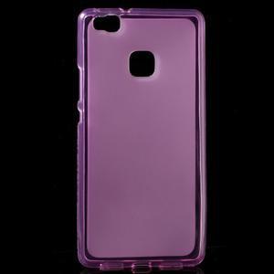 Matný gélový obal pre mobil Huawei P9 lite - rosa - 1