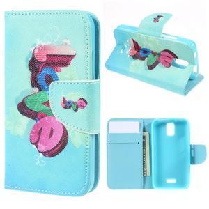 Peňaženkové puzdro na mobil Huawei Y3 a Y360 - love - 1