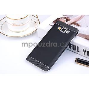 Čierny kovový kryt na Samsung Galaxy A3 - 1