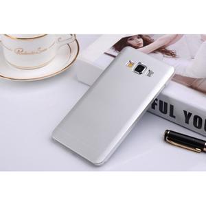 Strieborný kovový kryt na Samsung Galaxy A3 - 1