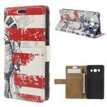 Peňaženkové puzdro pre Samsung Galaxy A3 - Socha Svobody - 1/7