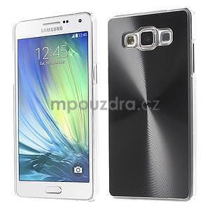 Čierny metalický kryt na Samsung Galaxy A5 - 1