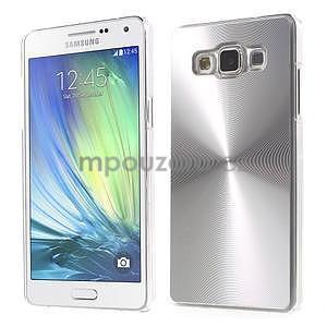 Strieborný metalický kryt na Samsung Galaxy A5 - 1