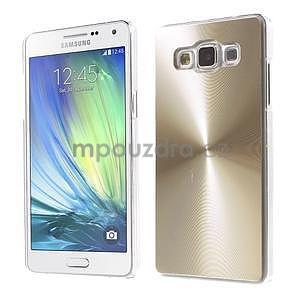 Zlatý metalický kryt pre Samsung Galaxy A5 - 1