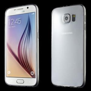 Ultra tenký obal na Samsung Galaxy S6 - transparentný - 1